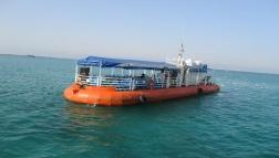 کشتی آکواریوم گردشگر 1 در کیش