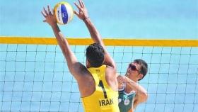 تیم ملی والیبال ساحلی آقایان در جزیره کیش