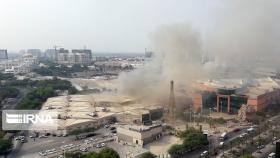 آتش سوزی بازار پردیس جان یک نفر را گرفت