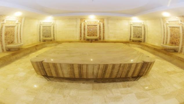 حمام ترکی هتل کوروش