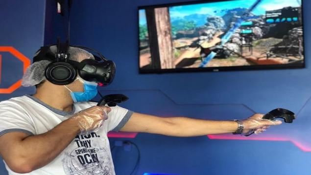 ایستگاه واقعیت مجازی آدرنالین