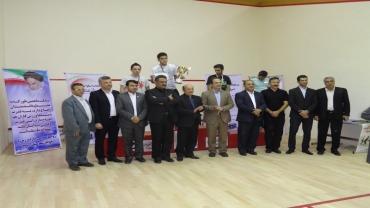 مدال طلای جام نشنال کلوز اسکواش به ورزشکاری از کیش رسید