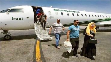 برقراری خط پروازی بین سلیمانیه و جزیره کیش