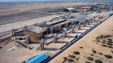 تامین ۶۰ درصد تجهیزات مورد نیاز پایانه جدید فرودگاه کیش