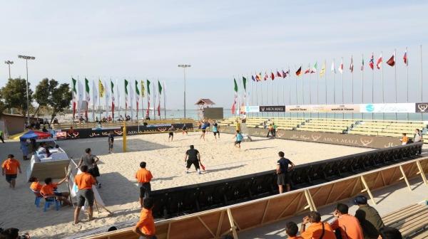 تور جهانی والیبال در کیش آغاز شد