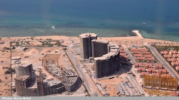 علت تفاوت ساخت وساز در کیش و دبی / حد 75 متری بلند مرتبه سازی در جزیره