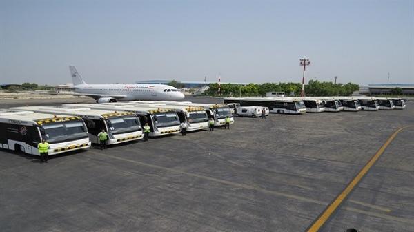 در اسکله و فرودگاه کیش اقدامات بسیار خوبی انجام شده است