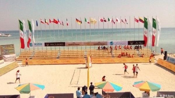 آغاز دومین تور جهانی والیبال ساحلی در کیش