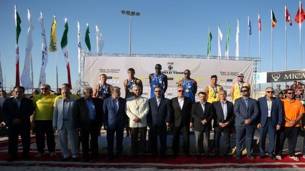 روسیه قهرمان دومین تور جهانی والیبال ساحلی شد