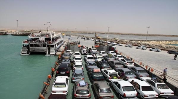 اعلام کرایه حمل خودرو و مسافر از مسیر های دريايي به کیش و بالعکس