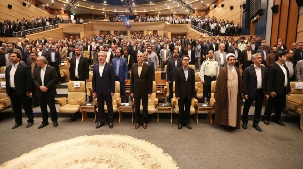 مراسم معارفه مدیرعامل جدید سازمان منطقه آزاد کیش برگزار شد