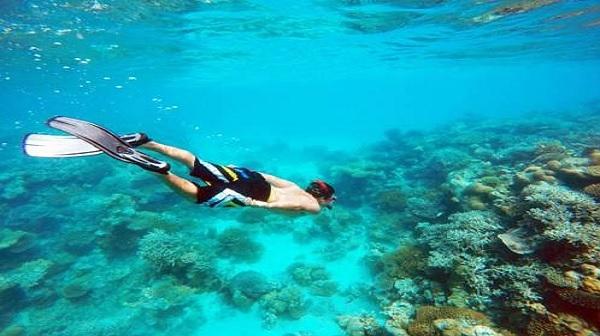 جزیره بیادهو بهشت غواصی