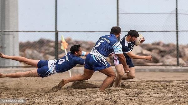 برگزاری مسابقات راگبی در جزیره کیش