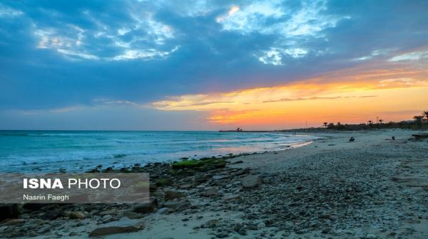 تصاویری از سواحل جزیره کیش مروارید خلیج فارس