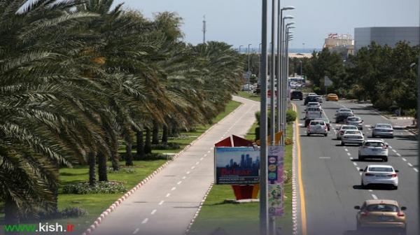یکی از زیباترین خیابانهای کشور در کیش احداث میشود