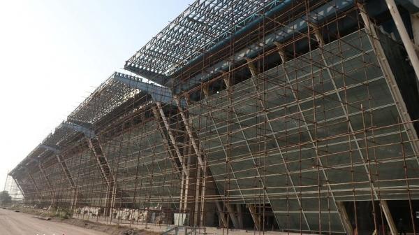 پیشرفت ۷۰ درصدی پروژه ترمینال جدید فرودگاه کیش