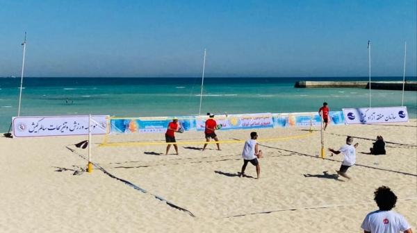 آغاز رقابت های تنیس ساحلی در جزیره کیش