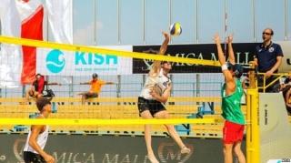 3ستاره شدن تور جهانی والیبال ساحلی کیش