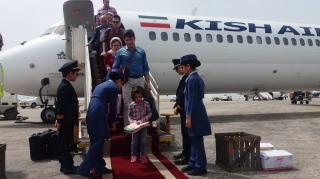 رشد 24 و 15 درصدی مسافران و پروازهای داخلی و خارجی نوروزی فرودگاه کیش
