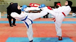 اعلام نتایج اولین دوره از رقابت های لیگ کاراته بانوان در جزیره کیش