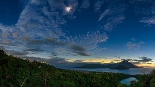 رصد خورشید گرفتگی از جزیره کیش