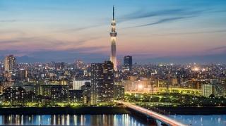 اسکای تری بلندترین سازه ژاپن