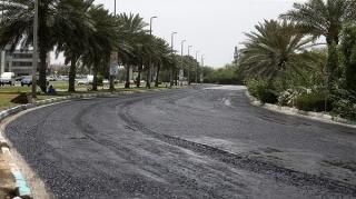 ترمیم و بهسازی خیابان های جزیره کش