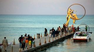 ورود بیش از 95 هزار مسافر به جزیره کیش در سال جاری