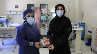 تقدیر از بانوان کادر درمان بیمارستان کیش