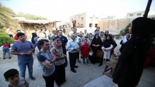 اعطای نشان گردشگری حلال به خانه بومیان کیش