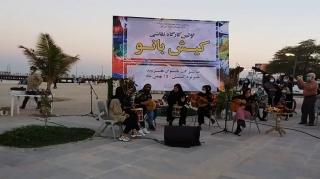اولین کارگاه نقاشی زنان در کیش برگزار شد